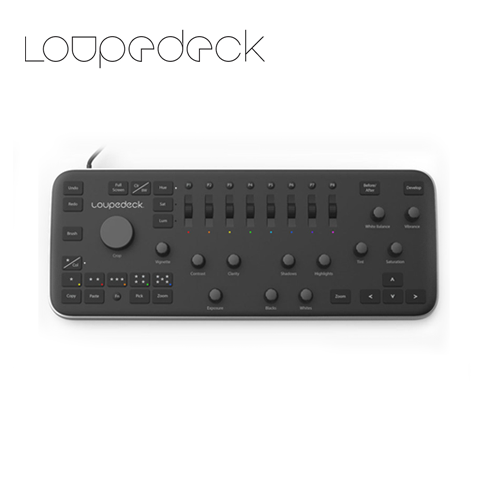 Loupedeck Photo Editing Cconsole For Adobe Lightroom
